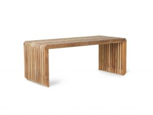 HK Living Slatted Bench/Element (Teak)