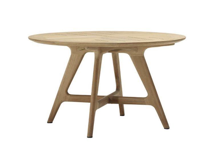 Kett Forrest Round Teak Table