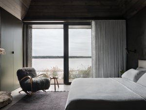 Bedroom | Shagwong Residence Bedroom by Adam Jordan Architecture