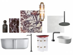 Bathroom Covet | Exploring Material and Finish with Designer Nickolas Gurtler