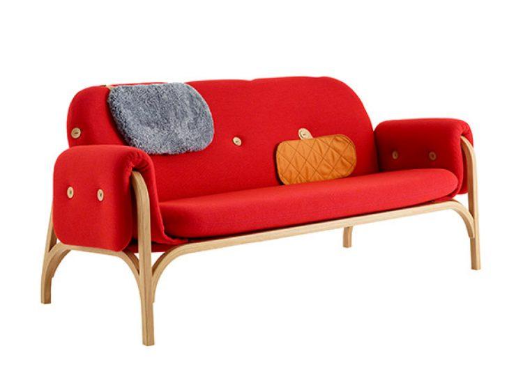 Swedese Button Sofa