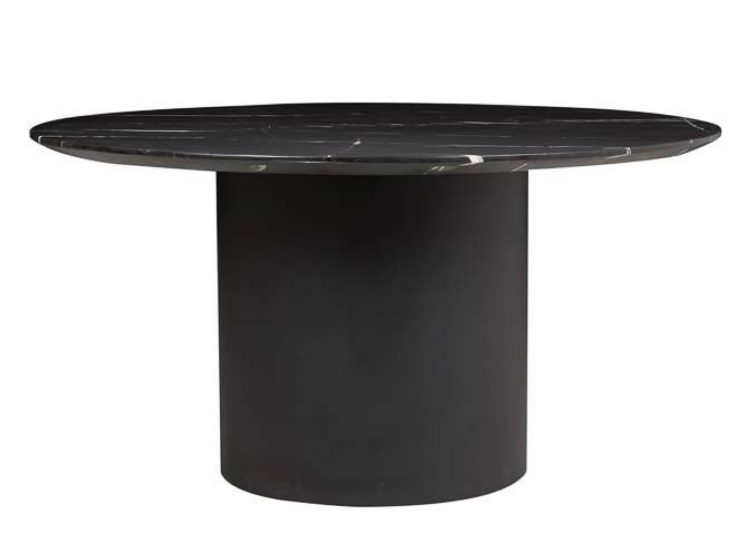 Globewest Elle Pillar Round Dining Table