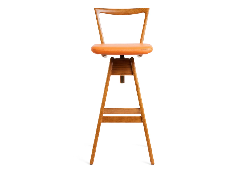 est living TH brown danish bar stool light ash 01