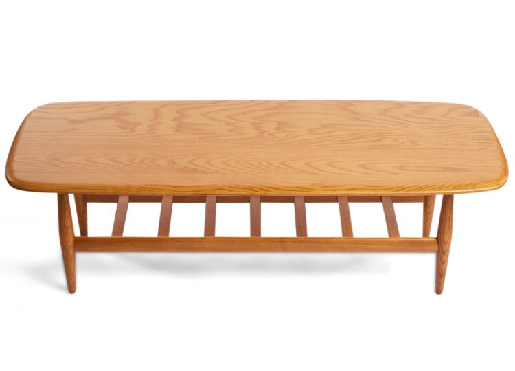TH Brown Frisco Coffee Table (Light Ash)