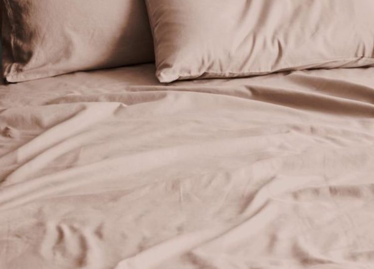 Aura Home Halo Organic Cotton Sheet Set Rosewater