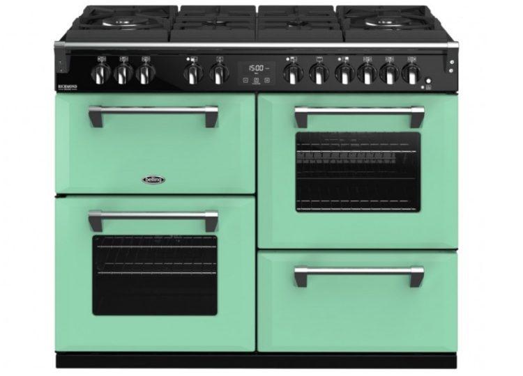 Belling Colour Boutique Deluxe 110cm Dual Fuel Range Cooker – Mojito Mint