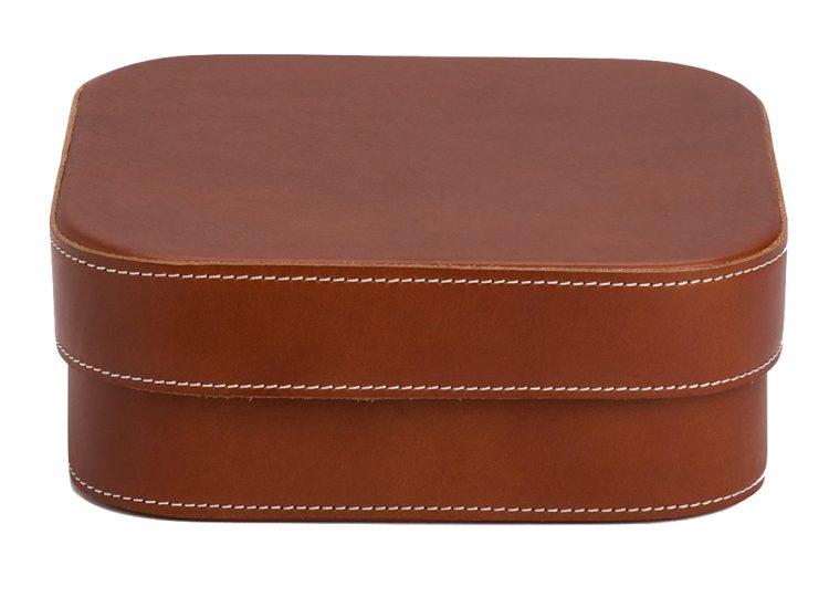 Palmgrens Large Leather Box