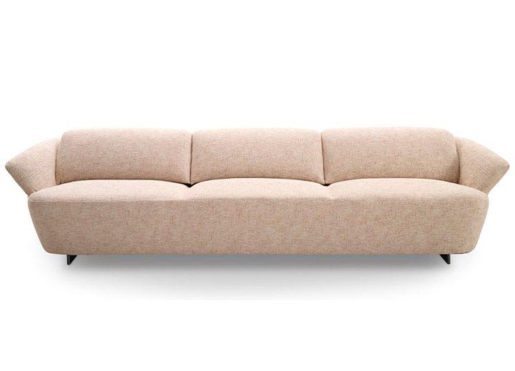 King Fleur Three-Seater Sofa