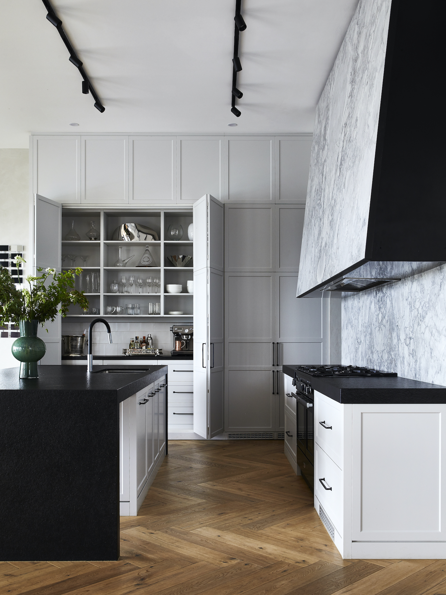 est living kitchen closeup kew house kate walker design 3