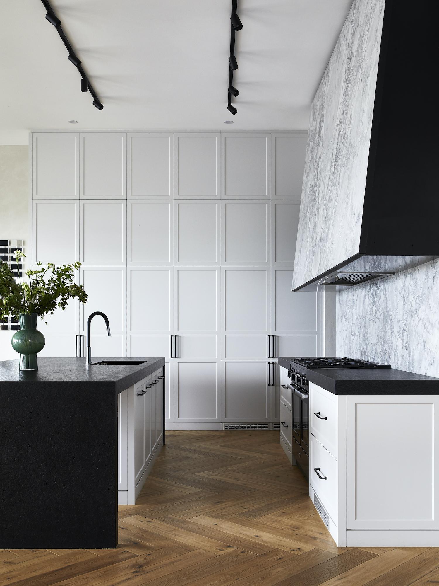 est living kitchen closeup kew house kate walker design 4