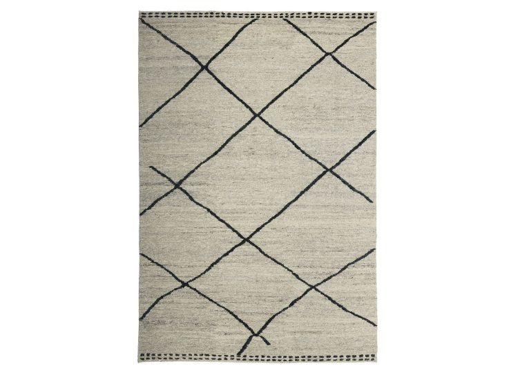 Tribe Home Ridge Rug – Grey and Charcoal