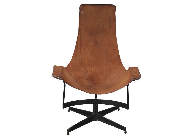 William Katavolos Swivel Sling Chair