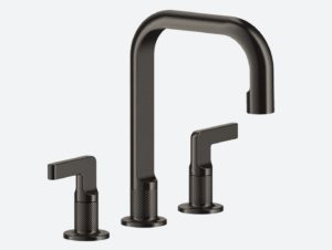 Gessi Inciso Three-Hole Basin Mixer without Waste