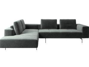 BoConcept Amsterdam Corner Sofa with Lounging Unit