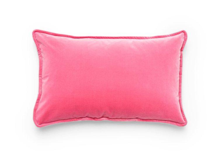 Hommey Lumbar Velvet – Bubblegum