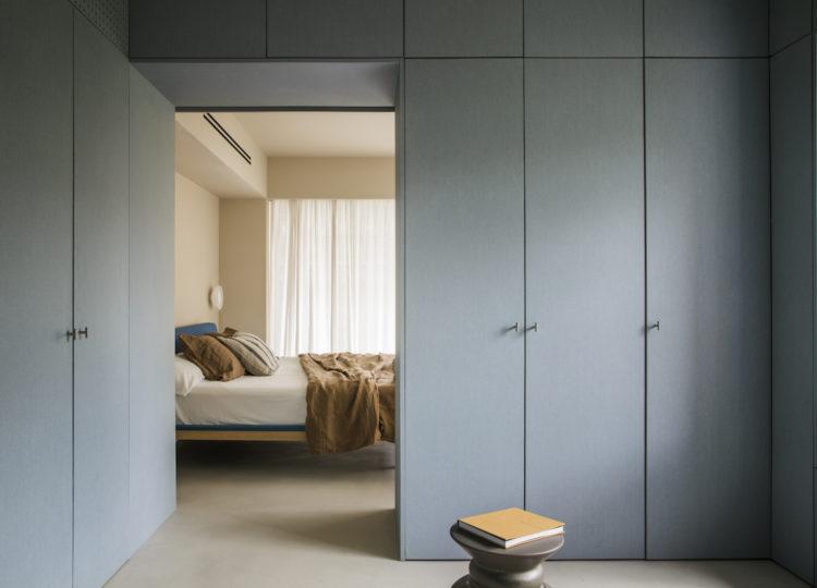Madrid Apartment Bedroom by Febrero Studio