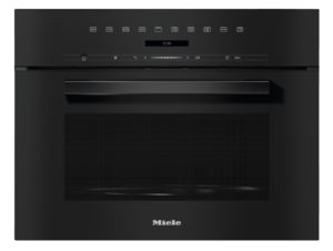 Miele M7244TC Built-in Microwave Oven Obsidian Black