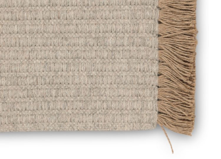 Nodi Tasseled Wool – Marl Grey