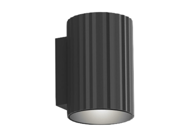 About Space Vili Cylindrical Wall Light