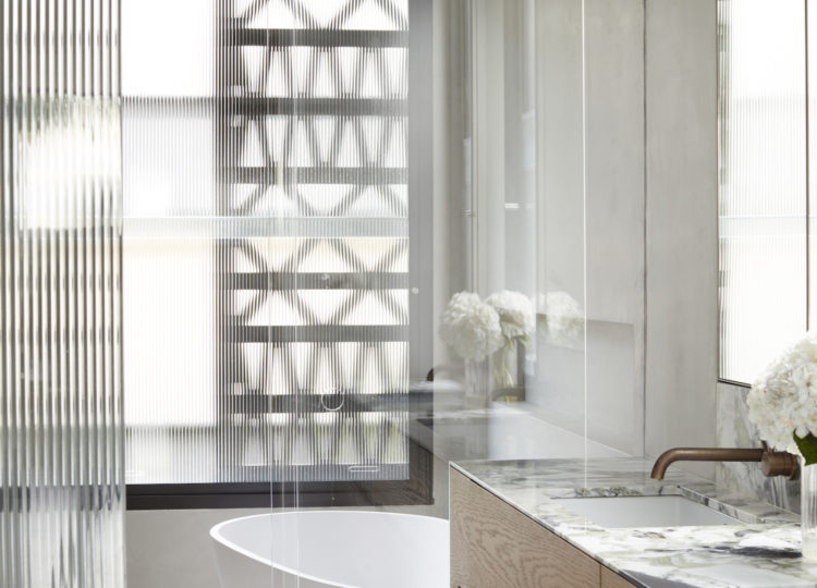 Bathroom | Above Board Living Bathroom by Luigi Rosselli Architects