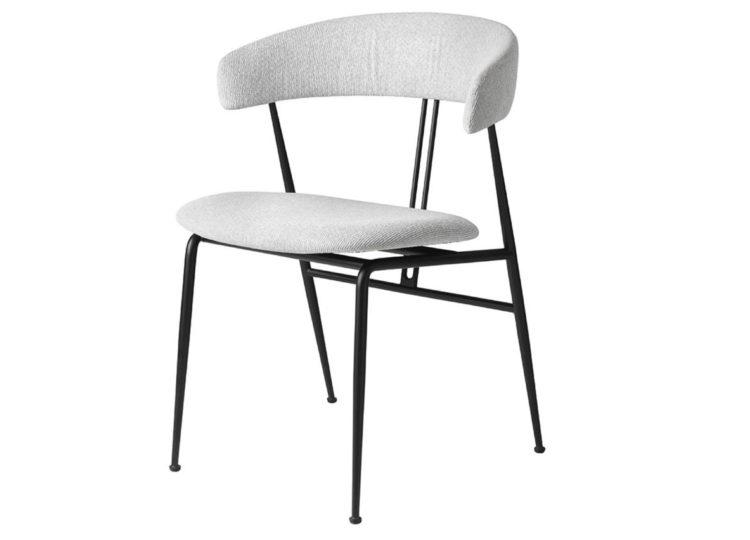 Gubi Violin Dining Chair Upholstered