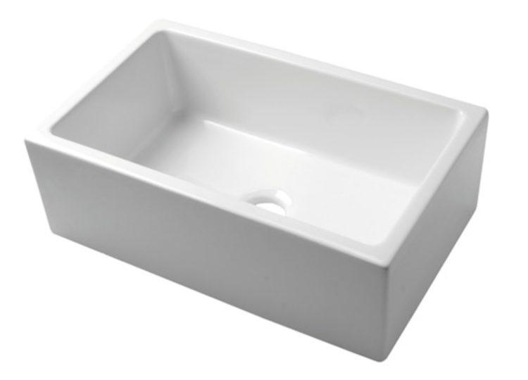 Acquello White Fireclay Sink