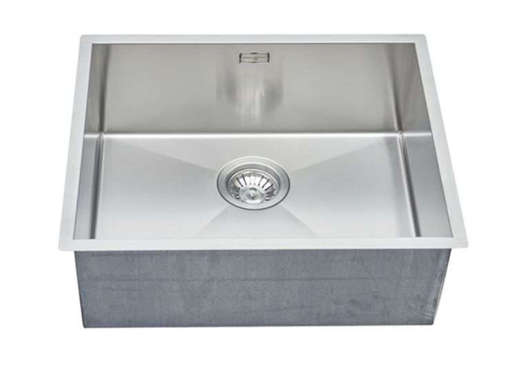 est living english tapware perrin rowe 500mm stainless steel kitchen sink 01 750x540