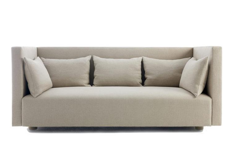 Great Dane Ilse High Back Sofa (Sustainably Produced Belgian Linen)