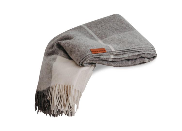 Huxford Grove Ascot Throw – Grey