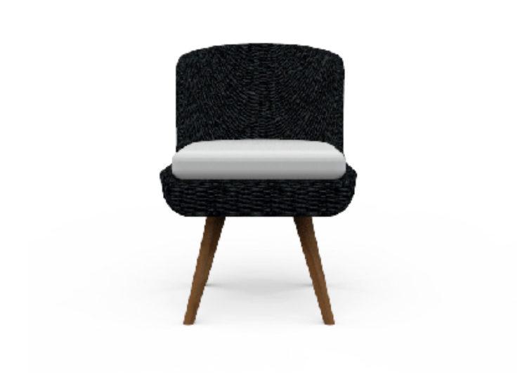 Osier Belle Armless Dining Chair