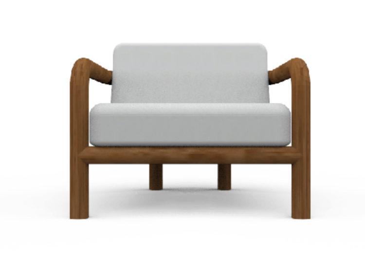 Osier Belle Lux Armchair