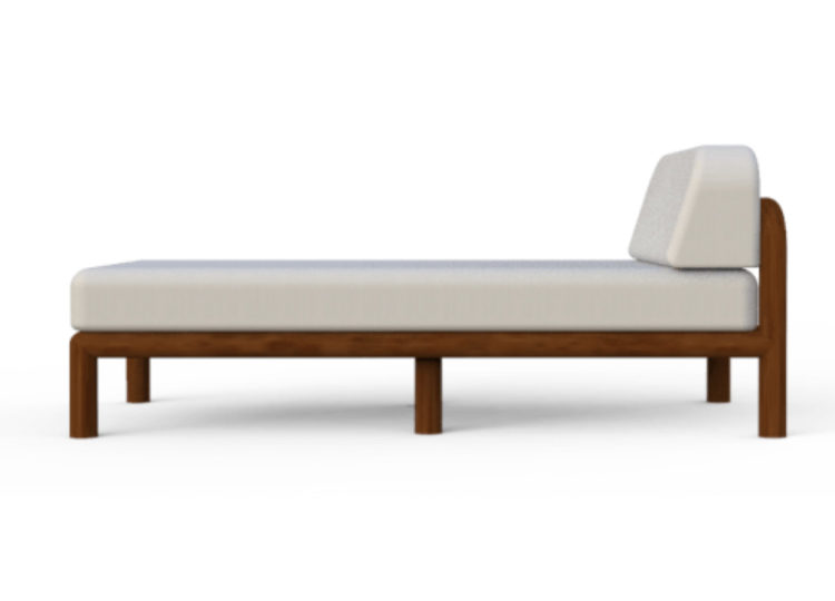 Osier Belle Lux Chaise Lounge