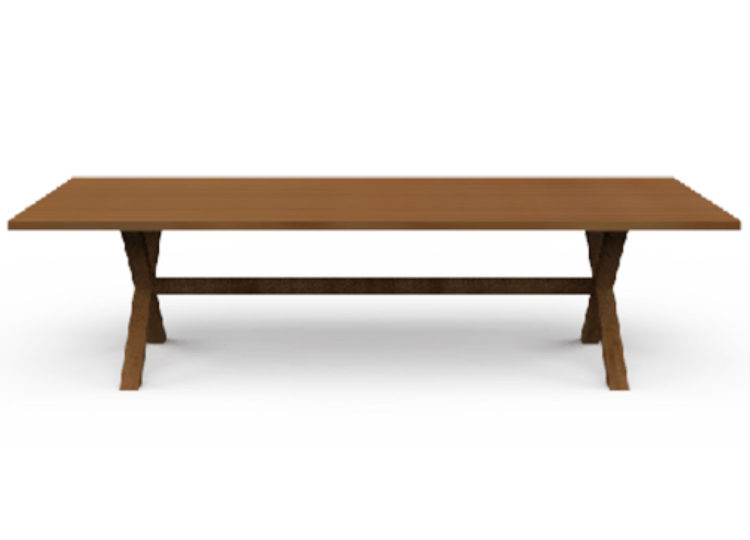 Osier Belle Dining Signature Rectangle Table