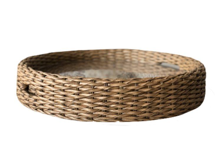 Osier Belle Round Tray
