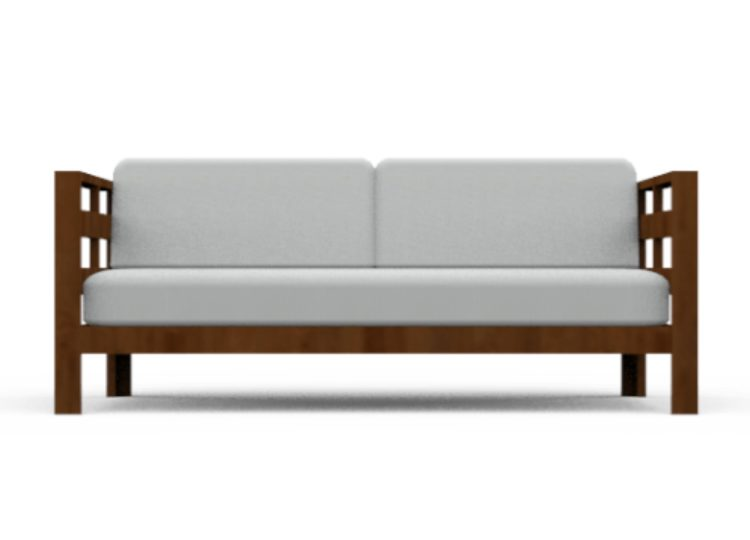 Osier Belle Teak Sofa