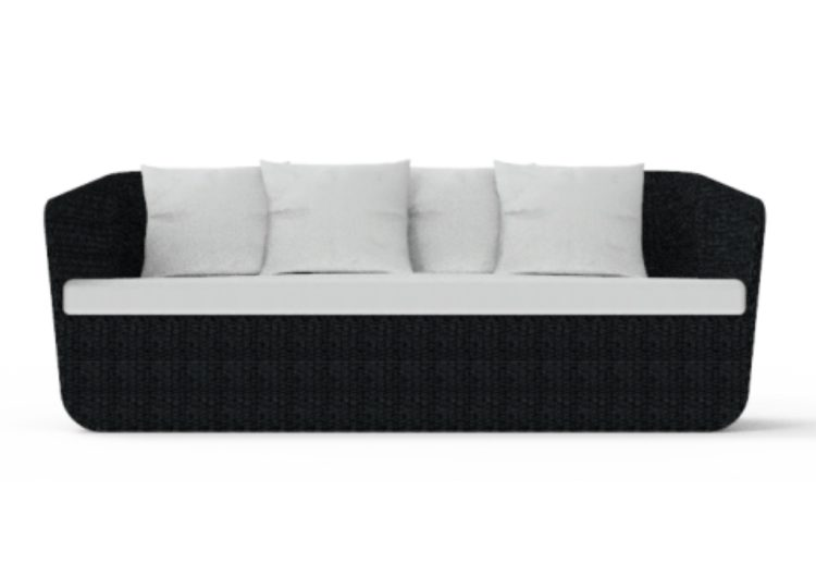 Osier Belle Tressé Storage Sofa