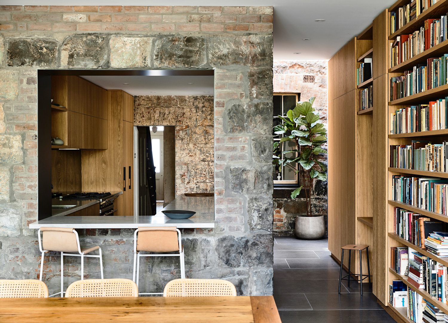 est living rob kennon architects fitzroy house 1