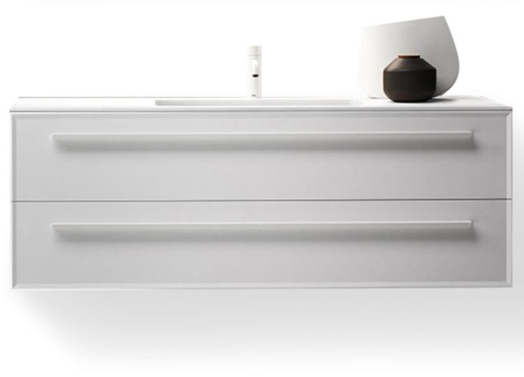 Falper 7.0 1200mm Integrated Basin and Double Drawer Cabinet