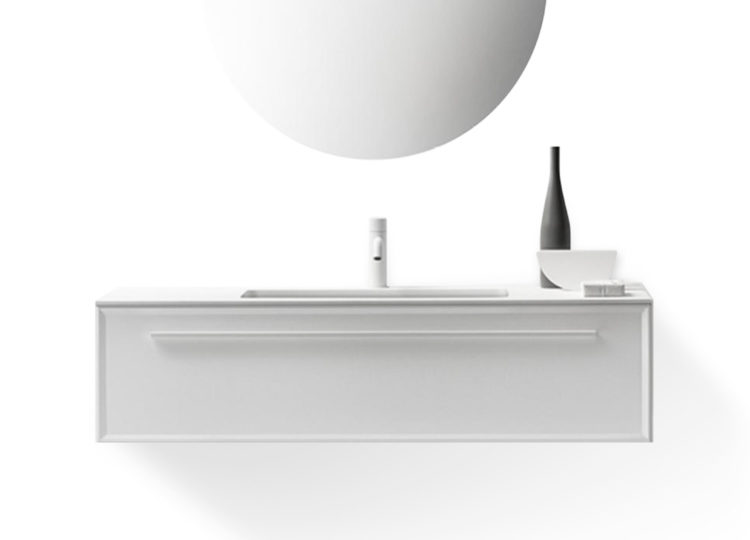 Falper 7.0 1200mm Integrated Basin and Single Drawer Cabinet