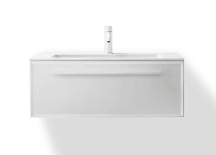 Falper 7.0 800mm Integrated Basin and Single Drawer Cabinet