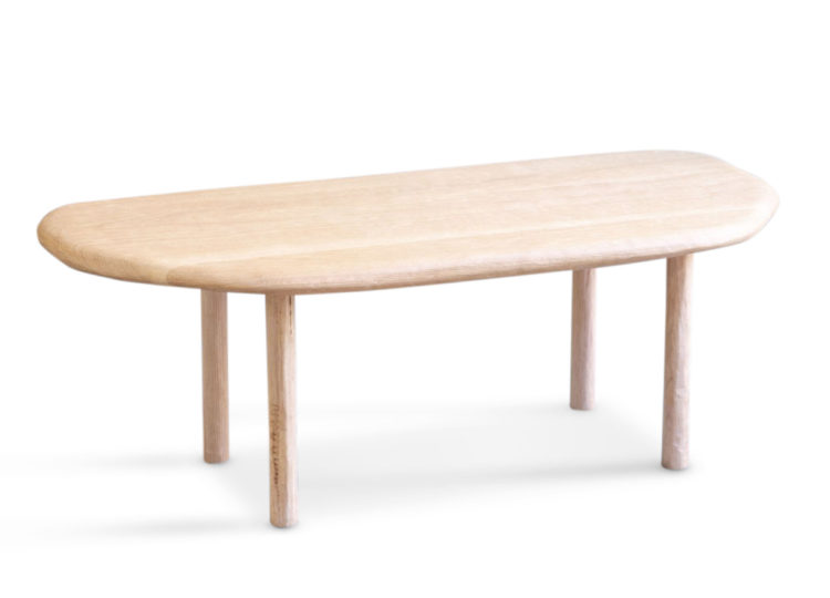 Lex Williams – D – Shape Coffee Table