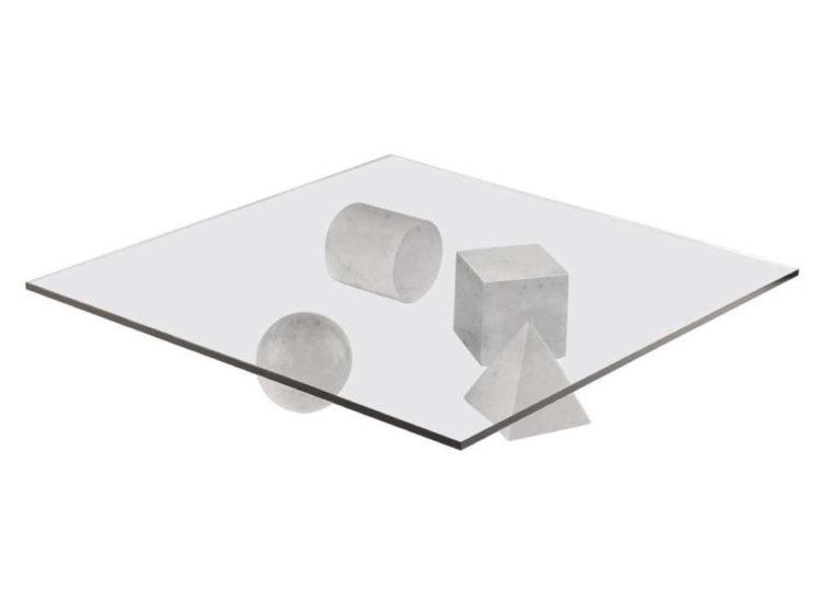 Martinelli Luce Metafora Table – Cararra Marble
