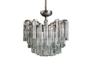 Venini Murano Glass Chandelier
