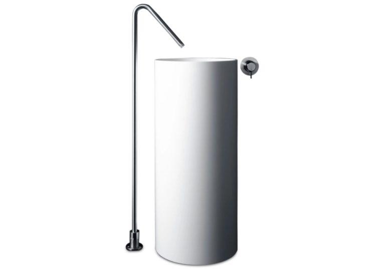 Boffi Minimal Freestanding Floor-Mounted Spout