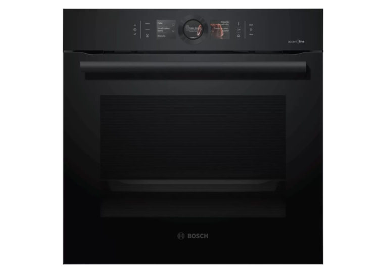 Bosch Series 8 | Built-In Oven with Steam Function 60x60cm Carbon Black