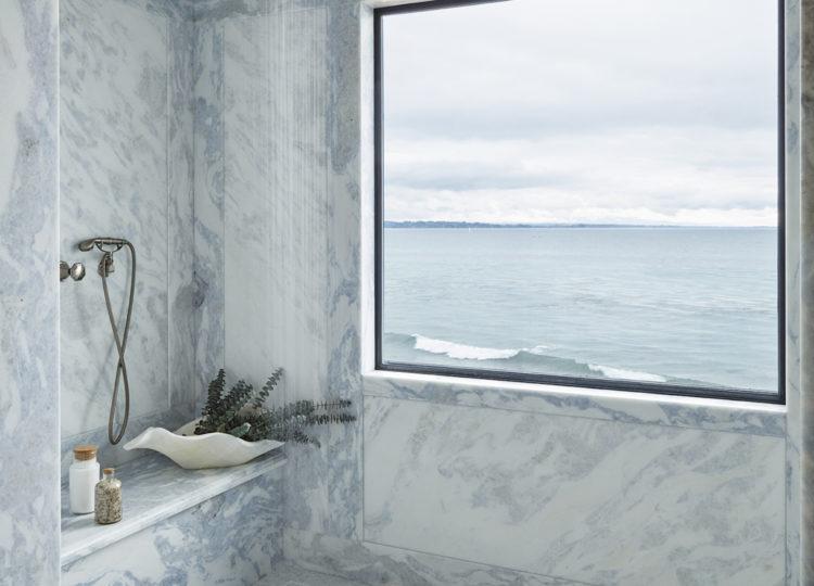Bathroom | Californian Coastal Bathroom by Tucker & Marks