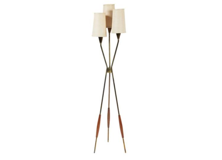 Lightolier Gerald Thurston Tripod Floor Lamp