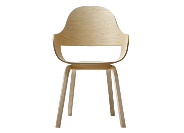 est living living edge bd barcelona showtime nude chair wood base 01 750x540