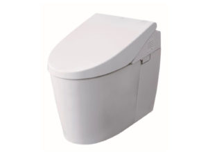 TOTO Neorest AH Integrated Toilet with Washlet and Le Muse Pan with Washlet