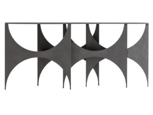 Sem Milano Paesaggio Butterfly Console Mat Gray Table